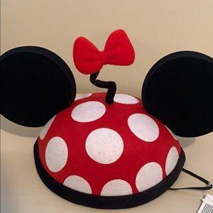 Authentic Disney Park Vintage Minnie Hat